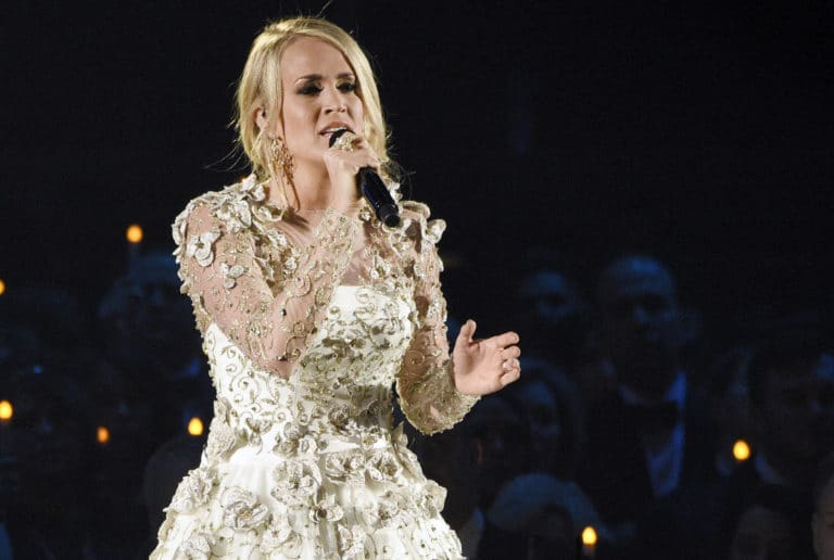 Carrie Underwood named top artist at CMT Music Awards