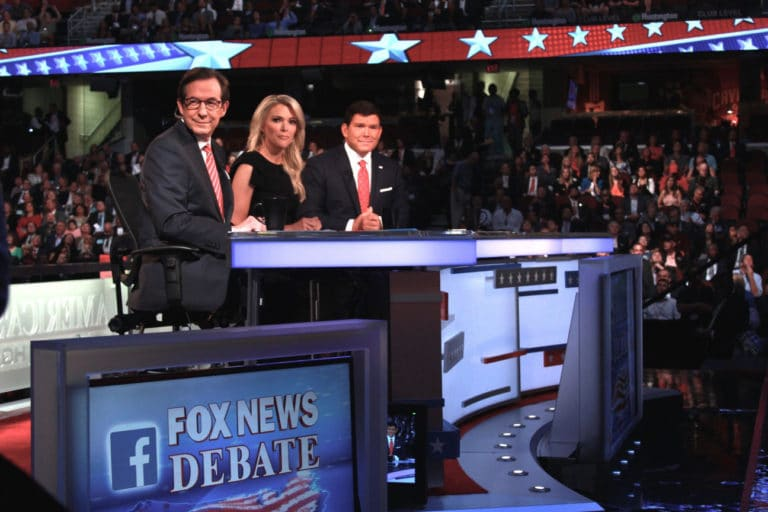The only debate moderator to return, Fox's Wallace preps