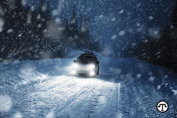Seis consejos rápidos para conducir en el invierno
