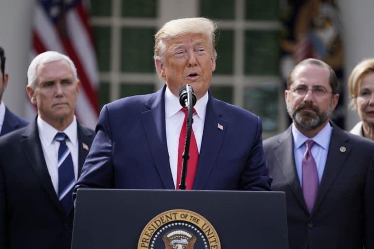 Trump: COVID-19 task force not dismantling, just refocusing