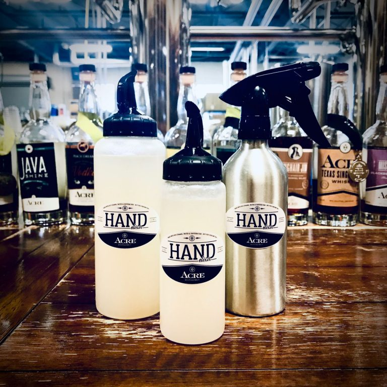 From alcohol to hand sanitizers: Local distillery switches in crisis