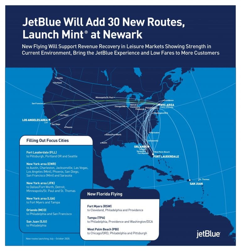 JetBlue to offer new service between New York and DFW Airport