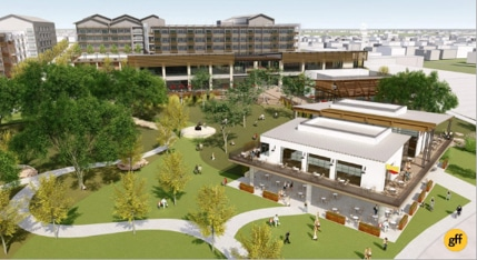 Crystal Springs apartment community begins construction in River District