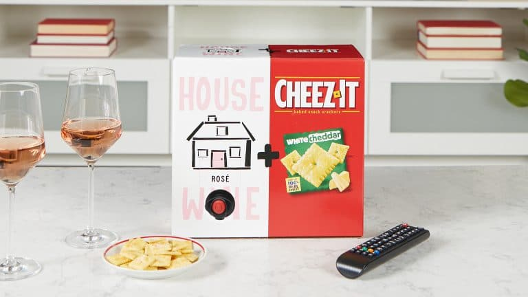 What wine goes with Cheez-It?