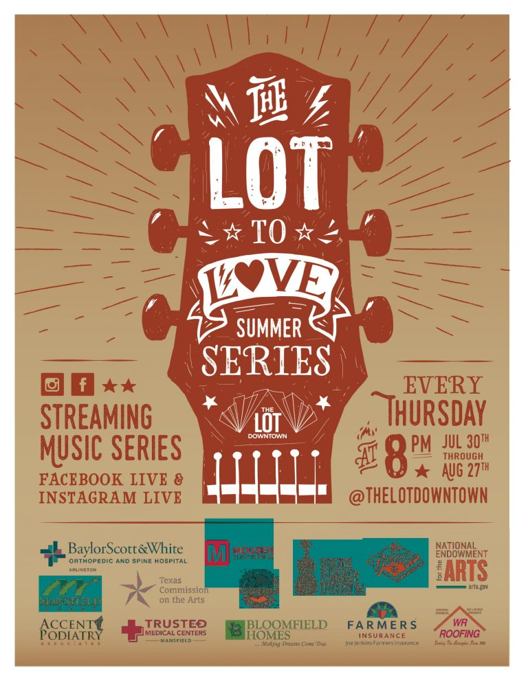 """The LOT Downtown debuts """"The LOT to Love Streaming Series"""""""