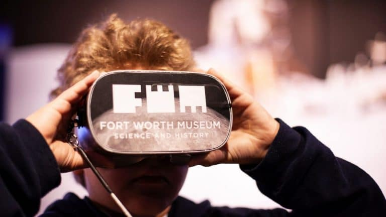 Fort Worth Museum Of Science And History wins award for virtual reality experience