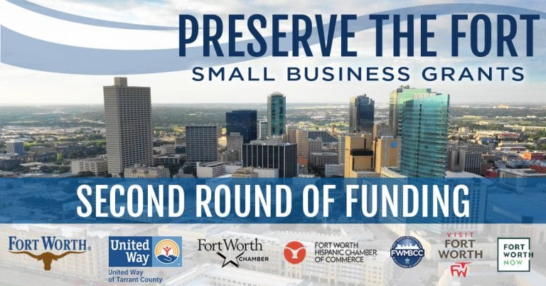 Fort Worth launches 2nd round of Preserve the Fort small business grant program