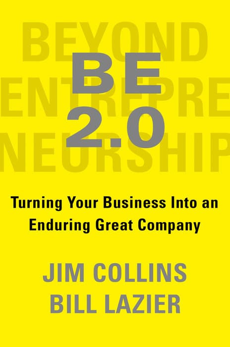 'BE 2.0': Business writer Jim Collins updates his first book