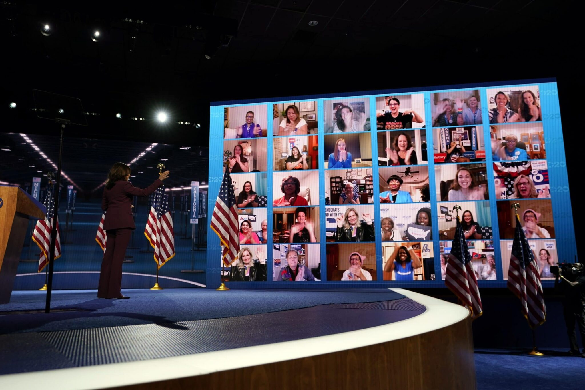 It is what it is: Democratic convention viewers adjust to virtual format