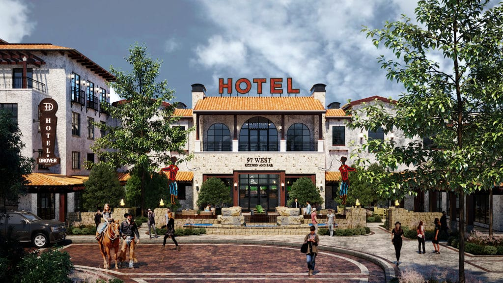 Hotel Drover sets opening plans