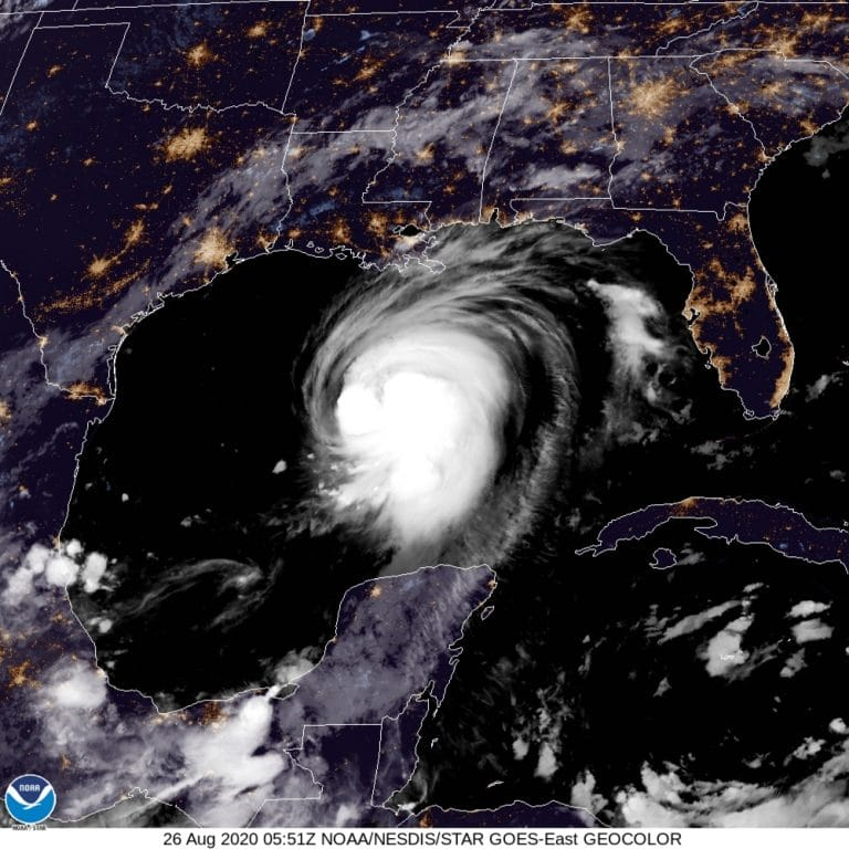 Hurricane Laura strengthens into 'extremely dangerous' Category 4