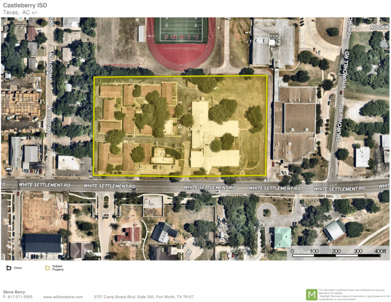 Castleberry ISD acquires property on White Settlement Road