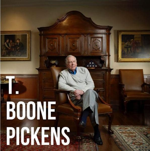 T. Boone Pickens items to be auctioned Sept. 12-15