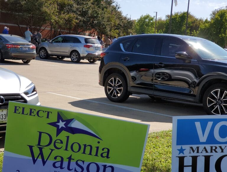 Early voting begins in Texas' boisterous and competitive 2020 election