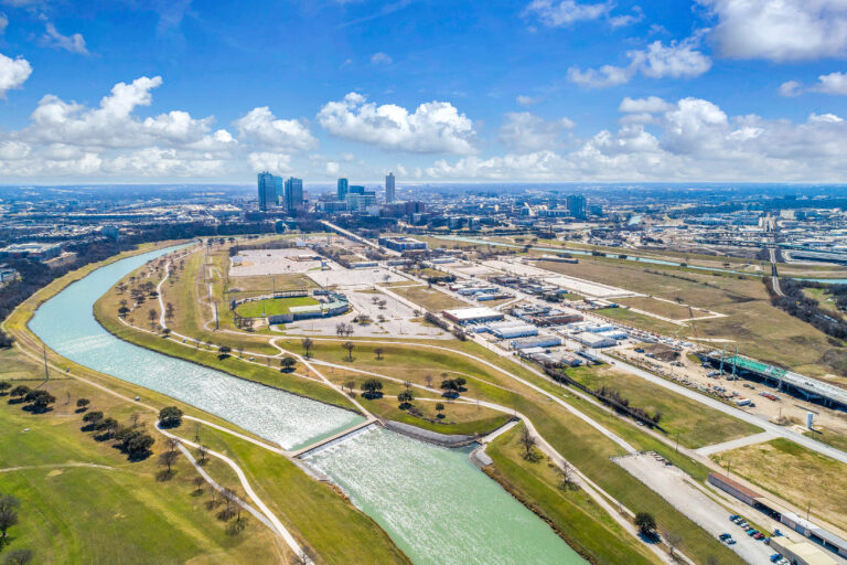 26 acres of Panther Island land hits the market as bridges start to open