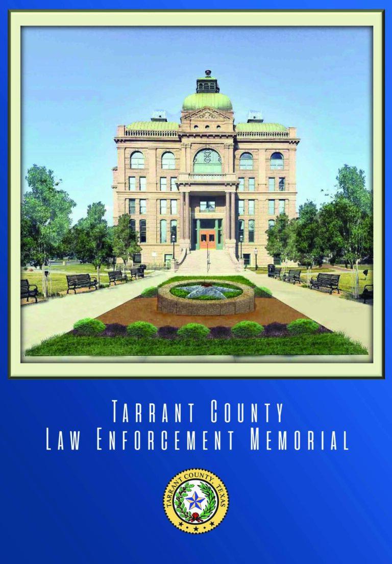 Tarrant County dedicates Law Enforcement Memorial