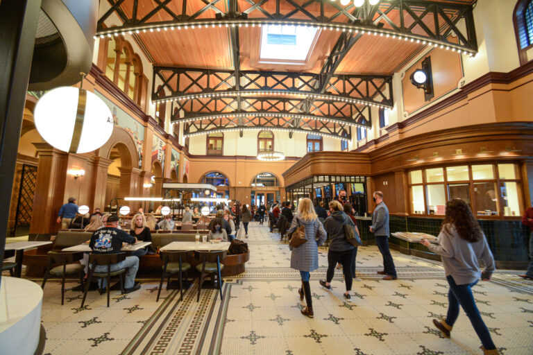 🔒 Northeast Tarrant County: Destination Grapevine opens hotel, depot, food hall